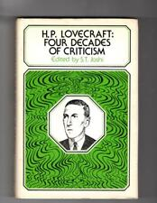 H.P. Lovecraft: Four Decades of Criticism by S.T. Joshi (ed.) Signed