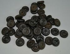 "48pc Vtg Toy Car Truck 7/8"" Dai Nos Replacement Rubber Tires Wheels Parts-Marx"
