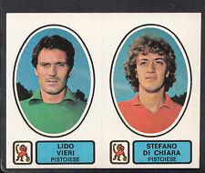 PANINI CALCIATORI FOOTBALL Adesivo 1977-78, N. 476, PISTOIESE-LIDO VIERI