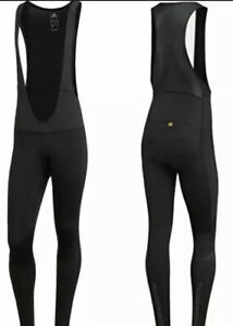 Adidas Adistar Belgements Padded Cycling Bib Tights Size S BS4715 Black $250