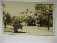 Longfellows Wayside Inn South Sudbury Ma Mass Postcard Old Antique Vintage