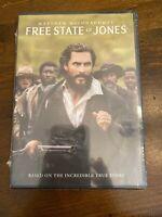 Free State of Jones [New DVD] Slipsleeve Packaging, Snap Case
