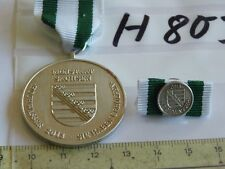 Orden Sachsen 2013 Fluthilfe Hochwasser mit Bandspangen Pin (h803)