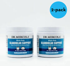 Lot of 2 Dr. Mercola Whole Body Glandular Support for MALE Cats & Dogs