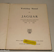Werkstatthandbuch / Workshop Manual Jaguar Mark I + II, Bj. 1956-1961