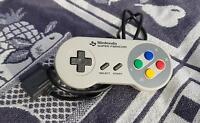 SNES Original Super Nintendo Controller SNSP-005 Gamepad Joypad Drücker SEHR GUT