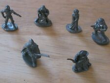 1997 MONOPOLY STAR WARS PEWTER GAME PIECES
