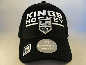 Los Angeles Kings NHL Reebok Flex Hat Cap Size L/XL Black