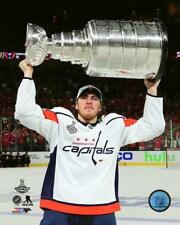 T.J. Oshie with Stanley Cup 8x10 Photo 2018 Washington Capitals Champions