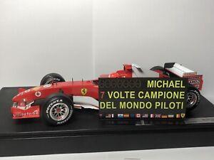 Pitboard 1:18 (Pizarra F1) / Michael Schumacher (Ferrari) 2004 / 7 Championships