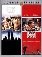 World Trade Center/Extremely Loud  Incredibly Close (DVD, 2013, 2-Disc Set)