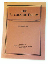 Physics of Fluids - Vol6/No9 - 1963 - vintage professional science journal