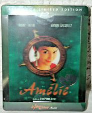New Amelie Blu-Ray Steelbook KimchiDvd Lenticular Type C Import