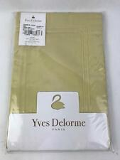 "Yves Delorme Triomphe 100% Cotton King Pillow Shams in Honey 21"" x 37"" - Single"