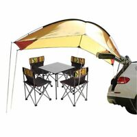 Waterproof 4personTrailer Awning Portable Car SUV Awning Tent Sun Shelter Canopy