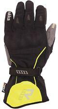 Rukka Virium Gore Tex Handschuhe sw gelb Touchscreen tauglich mit Knöchelschutz
