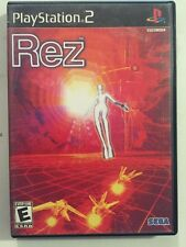 Rez (Sony PlayStation 2, 2002) Complete Rare Lots Of Fun