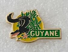 """""""French Guiana"""" A province of France on the Caribbean coast of South America pin"""