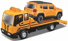 Tow Truck Car Hauler + Jeep Renegade. BUR 31417