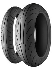 PNEUMATICI GOMME MICHELIN POWER PURE SC 120/70-13 53P FRONT + 140/60-13 57L REAR