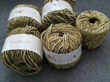 (4.5) Touch Me Italy Muench Munch Wool Chenille Softest! Yarn Lot 4.5