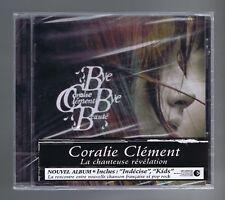 CORALIE CLEMENT CD (NEUF) BYE BYE BEAUTE (STICKER)