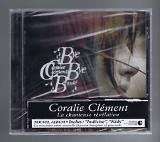 CORALIE CLEMENT CD (NEUF/SEALED ) BYE BYE BEAUTE (STICKER)B.BIOLAY