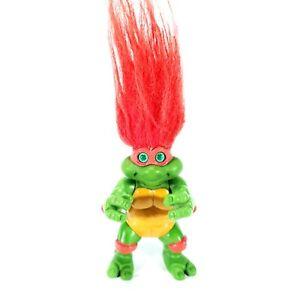 1993 Playmates Tmnt Trolls Raphael Raph Troll Teenage Mutant Ninja Turtles