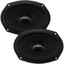 "Focal ISU690 6"" x 9"" Universal Series 2-Way Component Car Audio Speakers NEW"