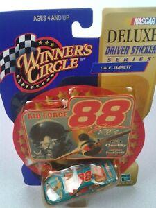 Winner's Circle Deluxe driver sticker series #88 Dale Jarrett Air Force car