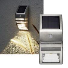 Star Trading LED Solarleuchte Wandlampe Warmweiße LEDs Bewegungsmelder 50 Lumen Merken