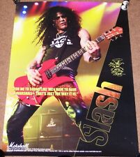 GUNS AND ROSES SLASH SUPERB FULL COLOUR MARSHALL AMPS U.K. PROMO POSTER 1995