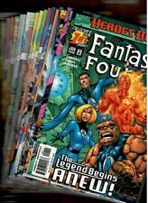 Fantastic Four (Marvel 1998) #'s 1,2a,2b,3,4,5,6,7,9,13,14,16,17,19,21,23,24,28