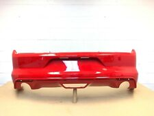 2015 2016 2017 ford mustang v6 rear bumper cover (race red color- need paint) #6