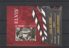 Block Elvis Presley MH - St. Vincent - Viva Las Vegas (EL014)