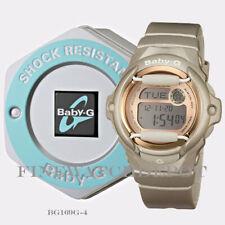 Authentic Casio Baby-G Ladies Pink Champagne Digital Watch BG169G-4