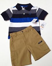 Nautica Boys Shorts Set Size 12 months~Collared Polo Top~New Tags $42.00