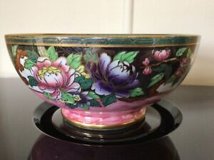 """Maling, Large Bowl, Design/pattern 5151, date1930. 1st class condition #TWO """"A"""""""