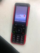 Nokia XpressMusic 5610 - Red locked to spain network Mobile Phone