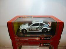 BBURAGO 0534 BMW M3 E36 - J.CECOTTO #2 WARSTEINER -WHITE 1:24 - EXCELLENT IN BOX