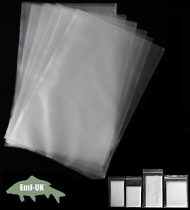 PVA Bags Carp Fishing Tackle Fast Dissolving No Residue No Smell Various Sizes
