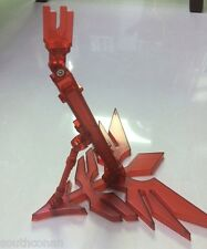 Universal Red New Zeon sinanju display stand base for 1/100 MG Gundam models