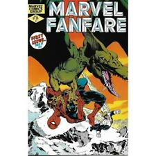 Marvel Fanfare 1 May 1982 Vol One comics books Spider-man Sauron First Issue 1st