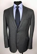 SUIT SUPPLY Sienna Gray Birdseye Wool Ticket Pocket Blazer Sport Coat_Size 42L