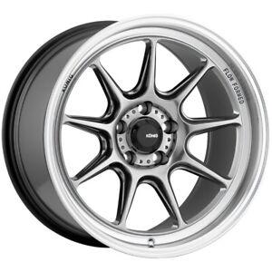 "Konig 105M Countergram 17x9 5x120 +32mm Hyper Chrome Wheel Rim 17"" Inch"