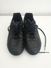 Black moulded studs football boots size 3 tempo
