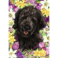 Easter Garden Flag - Black Goldendoodle 331991