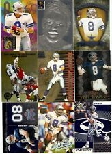 TROY AIKMAN 100 CARD LOT INSERTS DALLAS COWBOYS TOPPS CHROME LEGENDS HOF $175+
