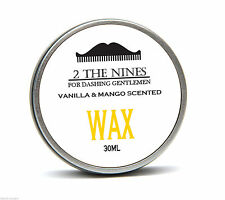 2 The Nines™ Salon 30ml Vanilla & Mango Moustache Wax