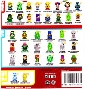 OOSHIES Common , Rare & Limited Edition DC Comics Series 4